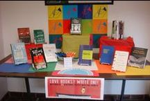 Books on Display / We love books and love showing off our great collection. / by Muntz Library