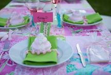 Theme- Lilly Pulitzer / by Frosted Events