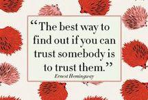 Trust / by Karin Sebelin