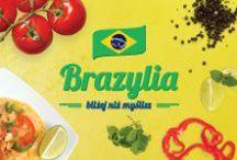 Brazylia bliżej niż myslisz....! / Nad boskim Rio czuwa posąg, a przed nim Copacabana się roztacza, jeśli chcesz poczuć Brazylię Piotr i Paweł Cię zaprasza! Teraz w supermarkecie Piotr i Paweł Brazylia - bliżej niż myślisz!