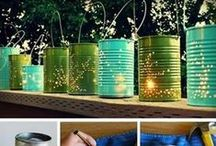 Camping party ideas / Birthday party with camping theme for fall / by Janey Radford