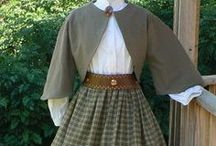 ~ Reenactment Attire / All my favorite clothing styles from days gone by.