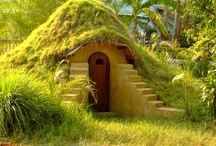 ~ Home - Hobbit Houses & Other Architectural Oddities / This board is for hobbit houses, tree houses, tiny houses, and other oddities.