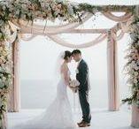 Wedding Ceremony / Flowers and setups