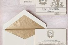 : Lovely Wedding Stationary + Place Cards :