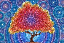 Artwork I Like / I'm drawn to bright colors, flowers, and the unexpected in a piece of art.
