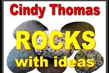 My Rock Painting Blog / Painted Rocks Blog: Painting Rock & Stone Animals, Nativity Sets and More: Hand painted rocks - crafts, ideas, and gifts that inspire creativity, delight the heart, and bring a smile to your face. http://paintingrocks.blogspot.com/