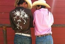Cowgirl Chic : Western Style / I love cowgirl chic & authentic western style!    More cowboy & cowgirl chic style posts here: http://www.focusonstyle.com/tag/cowgirl-chic/ / by Sharon Haver - FocusOnStyle.com
