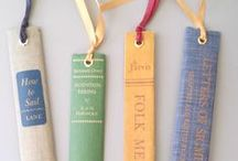Mark My Words / Bookmarks and other ways to mark your place in a book.