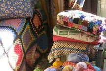 Yarn Craft - Afghans, Blankets / This board has been pared down to hold mostly crochet blankets. Others household, art, and amigurumi have been moved to those boards.