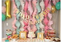 Birthday Party / Birthday Party decorations. Ideas for birthday parties