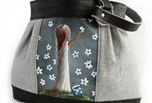 Luxury Handbags / My new line of luxury handbags are now listed in my Etsy shop. Layway is available.
