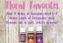 Essential Oil Diffuser Blends / Our favorite diffuser blends for Young Living essential oils!