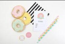 ♥ Donut Party Ideas ♥
