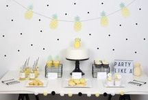 ♥ Pineapple Party Ideas ♥