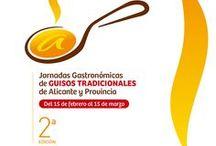 II Edición de las Jornadas Gastronómicas de GUISOS TRADICIONALES de Alicante y Provincia / 37 restaurantes de APEHA protagonizan del 15 de febrero al 15 de marzo la II edición de las Jornadas Gastronómicas de GUISOS TRADICIONALES de Alicante y Provincia