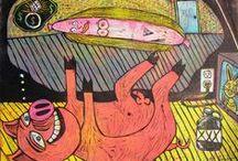 Art/Walls / by Maggie Winters