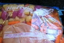 Freezer meals / by Carin Cook Griggs