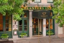 Planters Inn / Planters Inn is Charleston's grand dame historic hotel and the only Relais & Châteaux in South Carolina. The intimate 64-room Inn is a reflection of its unique location—from flickering carriage lanterns to locally woven sweetgrass baskets, Planters Inn is where understated elegance meets Lowcountry inspiration.  / by Planters Inn