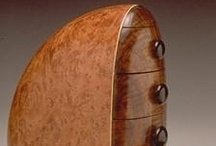 Art:  Wood  & Gourds / Furniture and other woodcraft/art; gourds.  / by My Reality is Fully Virtual