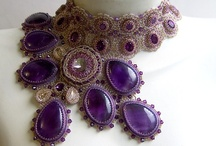 Jewelry--Bead Embroidery (Amazing!) / jewelry as art--gorgeous creations.   / by My Reality is Fully Virtual