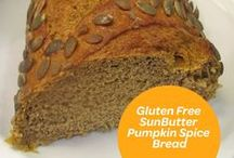 Pumpkin Passion / Peanut- & tree nut-free recipes that pair SunButter with its perfect complement: Pumpkin.
