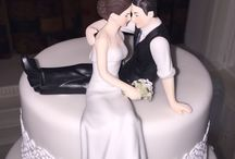 Wedding Cake Toppers - Ideas! / We see some fab cake toppers at the weddings we play at!! I love them-they are so personal to each couple!