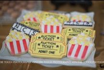 Lights! Camera! Auction! Hollywood Dessert Table