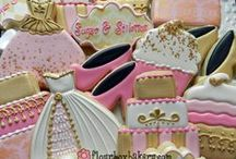 Pink and Gold Fever / I love all things pink and gold!! Especially with cookies!