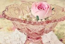 vINTAGE dERESSION gLASS / by Carin Cook Griggs