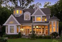 Styles of homes I like / by Kim Wilcox