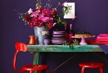 Cozy, Chic, Eclectic / with a dash of colorful bohemia  / by Rachel Fendel