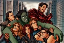Avengers / Everything Avengers. The newer Thor and Loki stuff are under Brothers at Heart. The newer Iron Man stuff is under Man of Iron. Enjoy! / by Katie Leonard