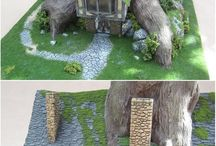 Little Spaces / Miniature fairy doors windows and gardens