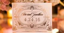 Wedding Words / Anything with text/font: Stationary, Save the Dates, Invitations, RSVPs, Wedding Programs, Place Cards, Table Numbers, Menus, Letters, Labels, Maps, Signs, gobo, etc... by Anna and Spencer Photography - Atlanta Documentary Wedding Photographers