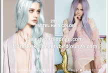 2013 Color & Style  / Go Bold, Be Vibrant!  2013 Calls for big, bold, and vibrant colors. Pastels are trending!!!! Let's do it! Call us today and book your color service! www.beautybirdlounge.com / by Beauty Bird Lounge Redondo Beach