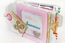 Mini albums, Cards, Tags