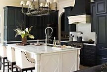 "Homes | Kitchen / ""Where we love is home - home that our feet may leave, but not our hearts."" - Oliver Wendell Holmes"