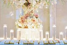 "Weddings | Escort Table / ""Bride: A woman with a fine prospect of happiness behind her."" - Ambrose Bierce"
