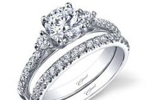 "Weddings | Wedding Ring / ""Bride: A woman with a fine prospect of happiness behind her."" - Ambrose Bierce"