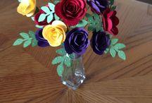 Paper/Ribbon/Felt Flowers