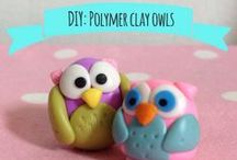 My work / Polymer clay projects and other crafts