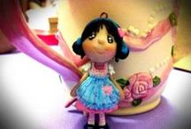 Art from the Philippine Polymer Clay Guild / Handmade polymer clay pieces from the Philippine Polymer Clay Guild