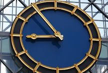 """Clocks - TicToc / """"I try to think of what time is and all I can think is . . . """"Time is time was."""""""" Andy Warhol"""