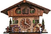 I'm coo coo for cuckoo clocks!!! / cuckoo clocks of every kind, grew up with them living in Germany and fell in love with them