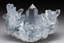Crystals & gemstones / In their ability to accept and hold a healing thoughtform, crystals are similar to magnetic recording media like a floppy disk in a computer disk drive. The crystal is programmed with specialized information utilizing the higher dimensional energies of consciousness. / by Cindy Bain