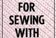 Sewing knits