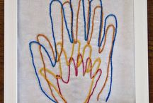 Kids - keepsake art / Footprints, handprints, thumbprints