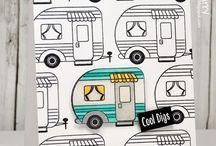 Cards - Caravans