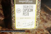 Your Inspiration at Home / Recipes using Your Inspiration at Home Products - Bronwyn Eastley YIAH Consultant, Australia.